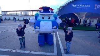 Робокар Поли - Уроки безопасности дорожного движения с Поли!