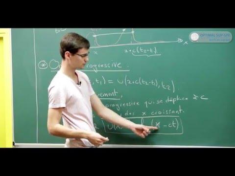 Physique des Ondes. Cours Maths Sup