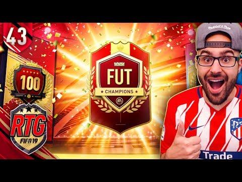 HUGE PROFIT TOP 100 FUT CHAMPIONS REWARD! FIFA 19 Ultimate Team RTG #43