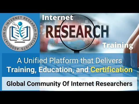 Association of Internet Research Specialists - Overview