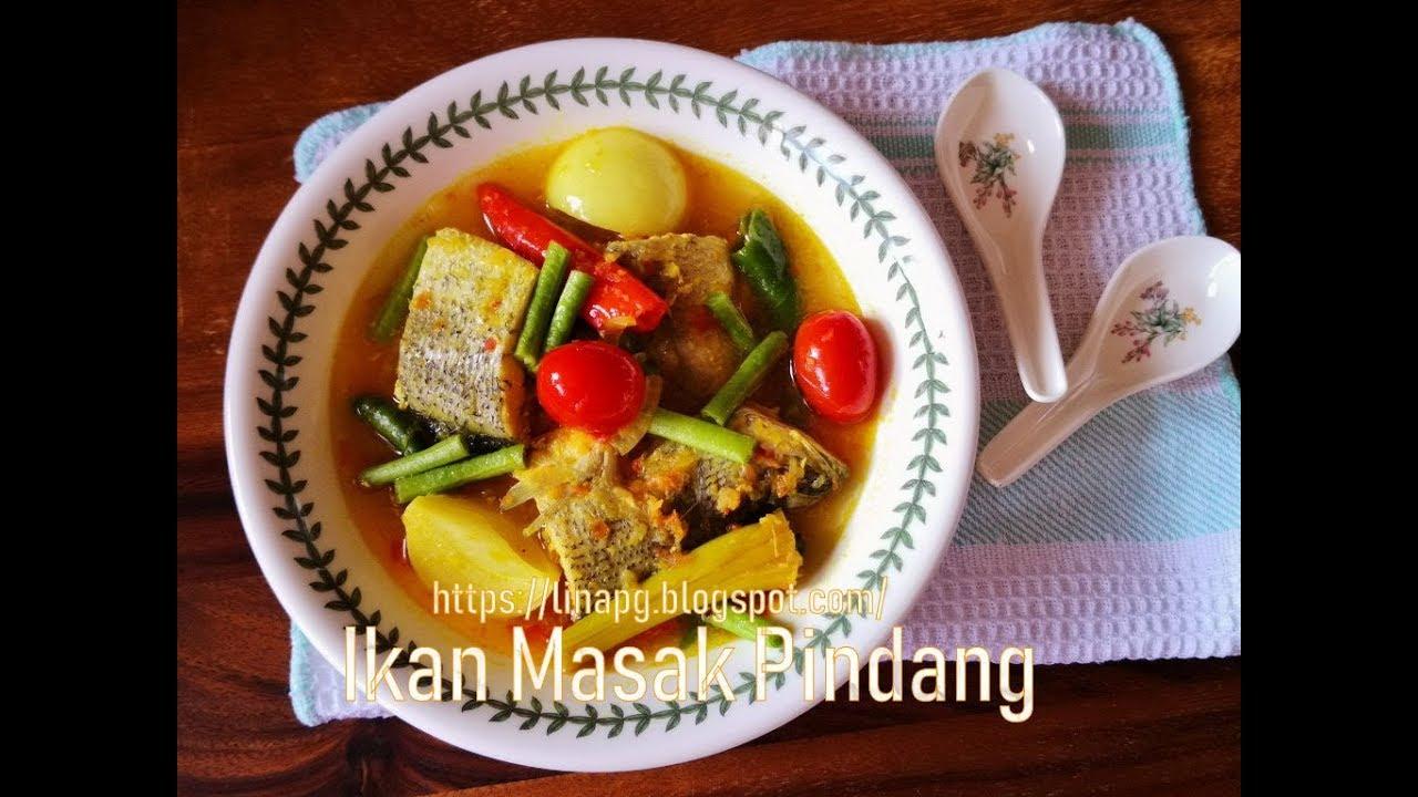 resepi ikan kembung masak pindang utara resep bunda erita Resepi Sup Ikan Dowry Enak dan Mudah