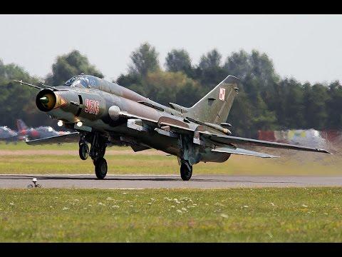 RIAT 2014   Polish Sukhoi Su-22 Fitter