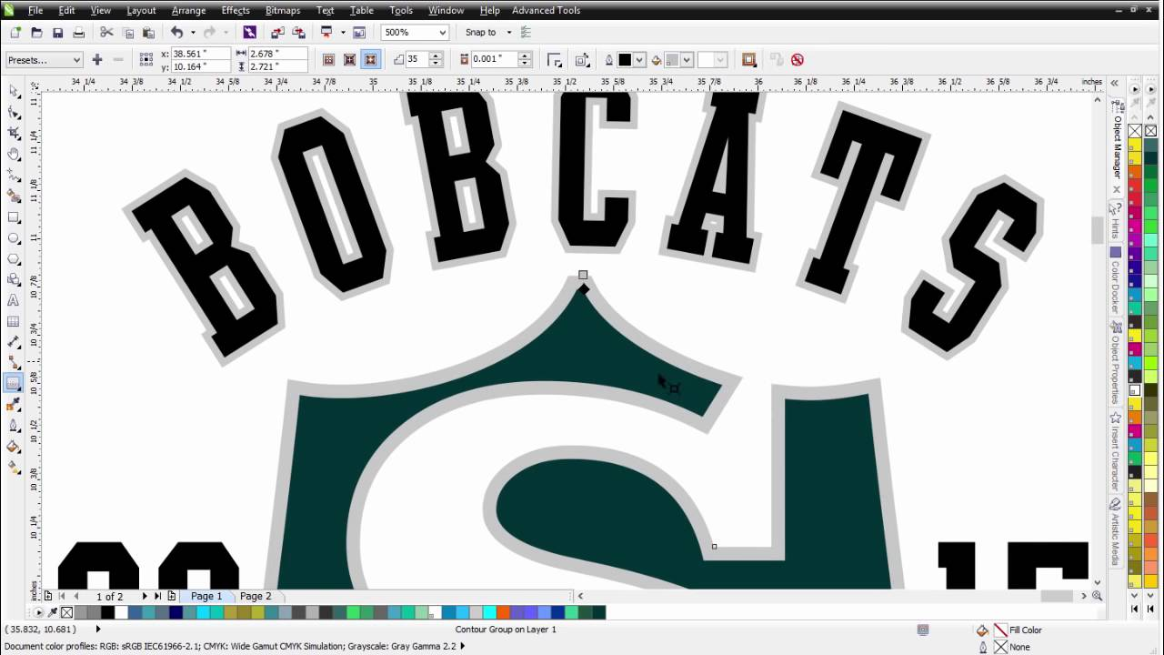 Corel draw vs photoshop for t shirt design - Coreldraw Tutorial T Shirt Design With Easy Fashion Effects