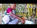 CHICKEN VADA Traditional Way of Cooking By Granny l Tea Time Snack Recipe l Desi Kitchen