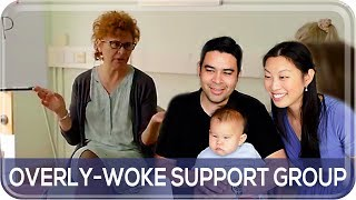 YOU WOKE? Americans React to Tracey Ullman Skit | The Postmodern Family EP#180