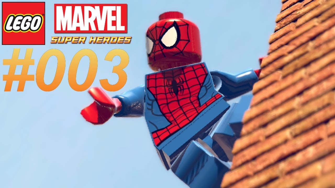 Lego Marvel Super Heroes 003 Spiderman Let S Play Lego Marvel Super Heroes Together Deutsch Youtube