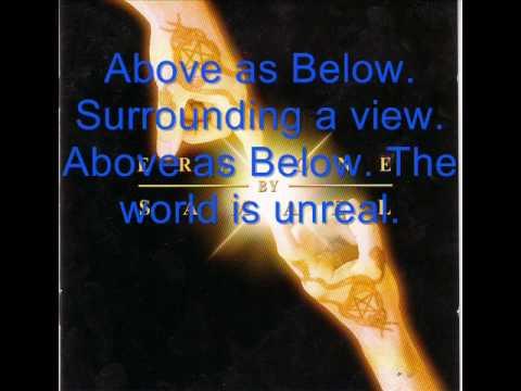 Above As Below By Samael (With Lyrics)
