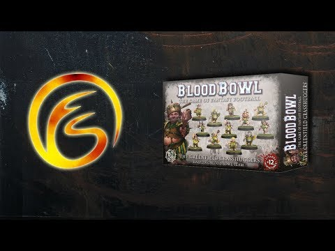 Unboxing The Greenfield Grasshuggers - Warhammer Blood Bowl Review - Firestorm Games
