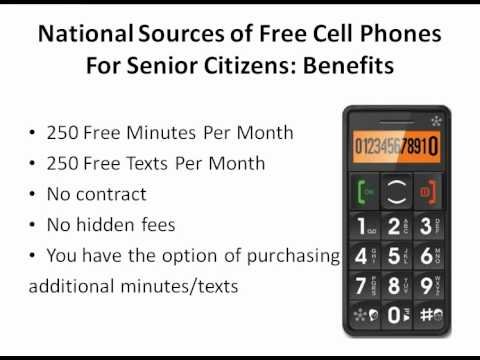 Free Cell Phone For Seniors - Find The Help That You Need