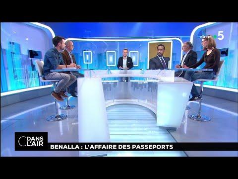 Benalla : l'affaire des passeports #cdanslair 28.12.2018