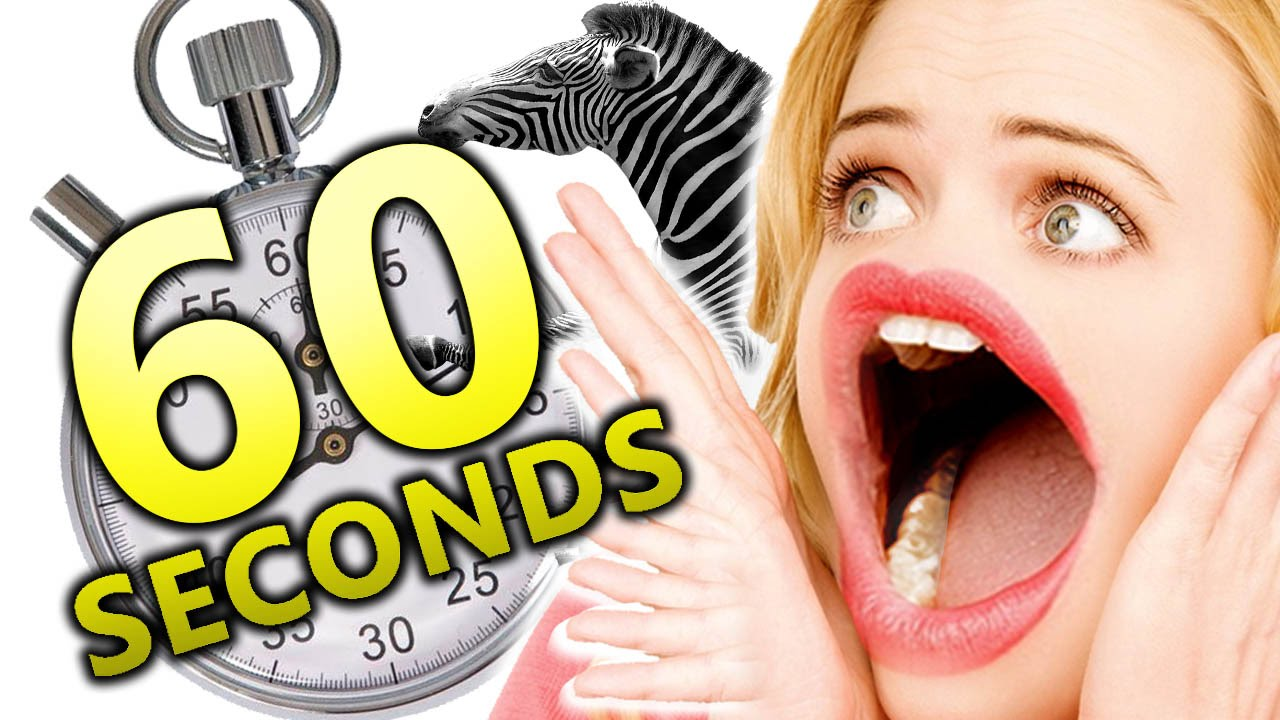 YOU HAVE 60 SECONDS TO CLICK ON THIS VIDEO! (60 Seconds)