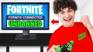 I Got UNBANNED on Fortnite for 24 HOURS!! (PRANK)