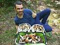 Белые грибы МЕШКАМИ Грибная охота сентябрь 2018 Евгений Лагуткин