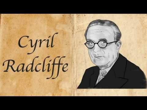 News Update Cyril Radcliffe: The man who drew the partition line 01/08/17