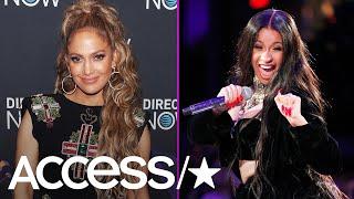 Jennifer Lopez Confirms Collaboration With Cardi B   Access
