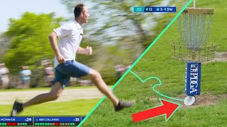 Top 10 RIDICULOUS Disc Golf Shots from the 2021 Dynamic Discs Open | Jomez Highlights