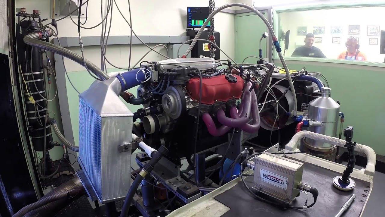 Nissan VG Turbo V6 Engine on the Dyno