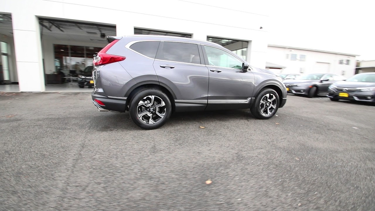 2018 Honda CR-V Touring | Modern Steel Metallic | JH602769 ...