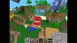 Minecraft pe server review Pokemon city