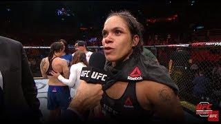 UFC 224: Entrevista no octógono com Amanda Nunes