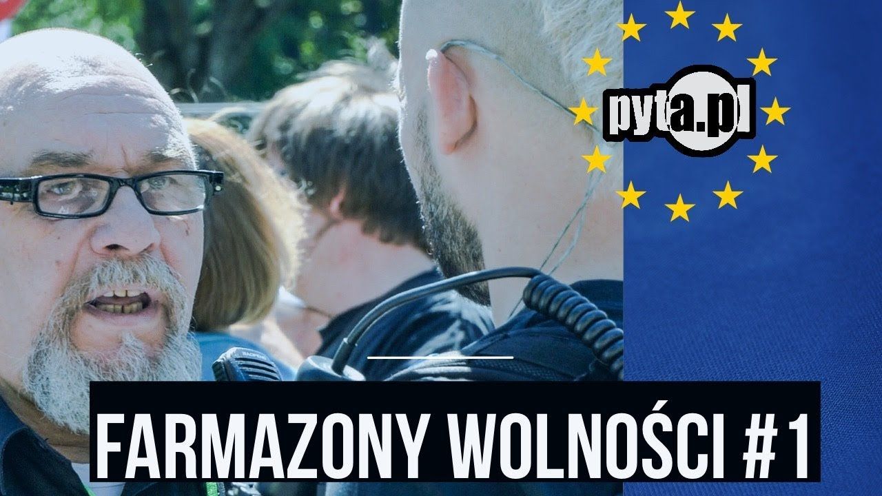 Farmazony wolności, czyli Pyta na warszawskich demonstracjach
