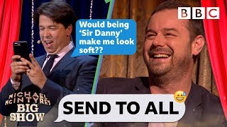 Send to All with Danny Dyer - Michael McIntyre39s Big Show Series 3 Episode 2 - BBC One