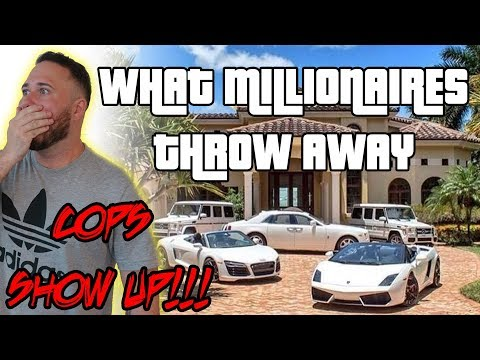 COPS CALLED WHILE DUMPSTER DIVING IN MILLIONAIRES RICH NEIGHBORHOODS | OmarGoshTV