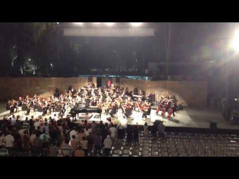 Omar Khairat &  l'Orchestre Symphonique Tunisien  15 08 2013 Part 1