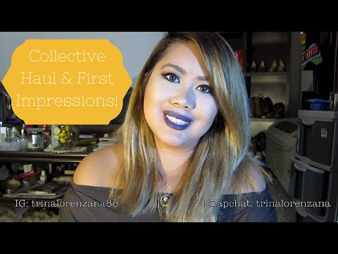 Collective Haul & First Impressions | Trina Lorenzana
