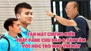 HLV Park Hang Seo tận tâm với Quang Hải - Văn Toàn và ĐT Việt Nam thế là cùng