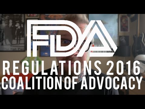 The FDA 2016 Vape product prohibition