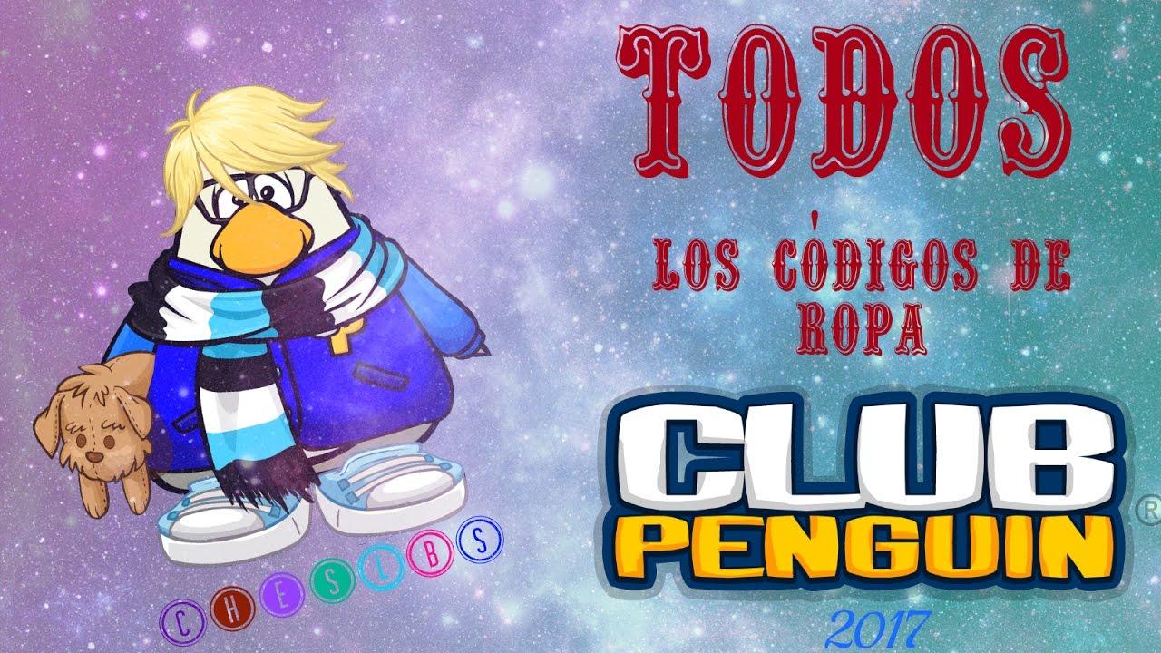 2ea3682ad59d TODOS los códigos de ropa de Club Penguin