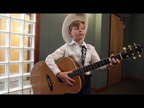 Mason Ramsey performs Hank Williams' -...
