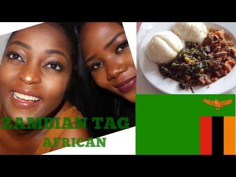 ZAMBIAN TAG/AFRICAN