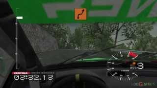 Colin McRae Rally 3 - Gameplay Xbox HD 720P