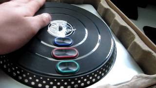 DJ Hero Unboxing (Xbox 360)