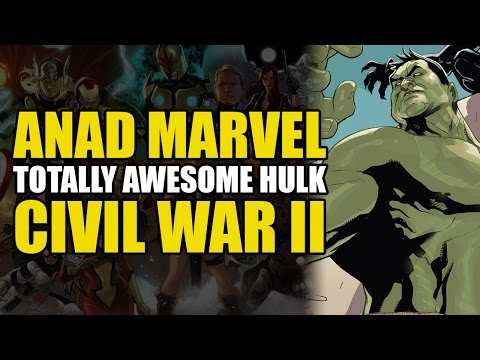 Black Panther's Hulk Buster Armor?! (Totally Awesome Hulk Vol 3: Civil War 2 Tie in)