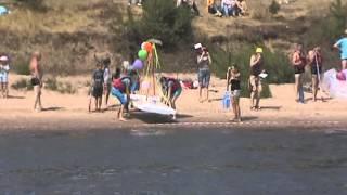 Конкурс саморобних плавзасобів на «Азоті».