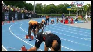 Fantastic run Warren Weir's. 200m. Adidas GP. New York-2014