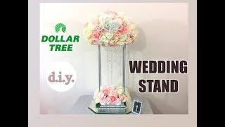 DIY Dollar Tree Wedding Stand - $10! Cheap + Easy