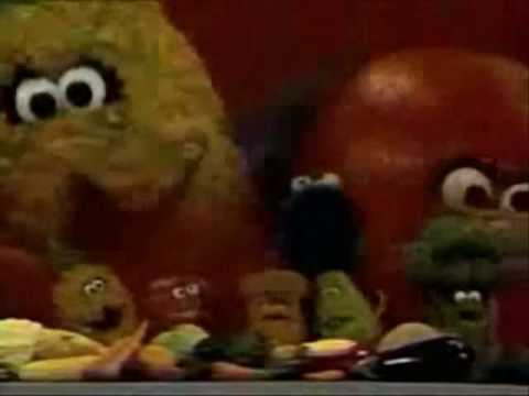 Healthy Food Rap Cookie Monster
