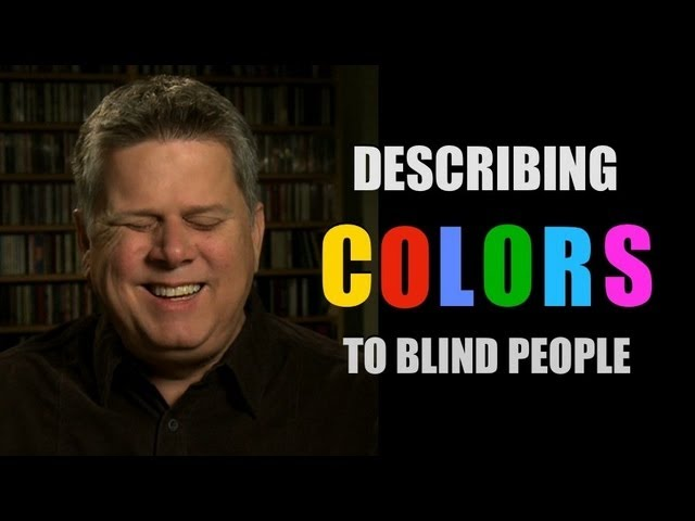 what color means to blind people