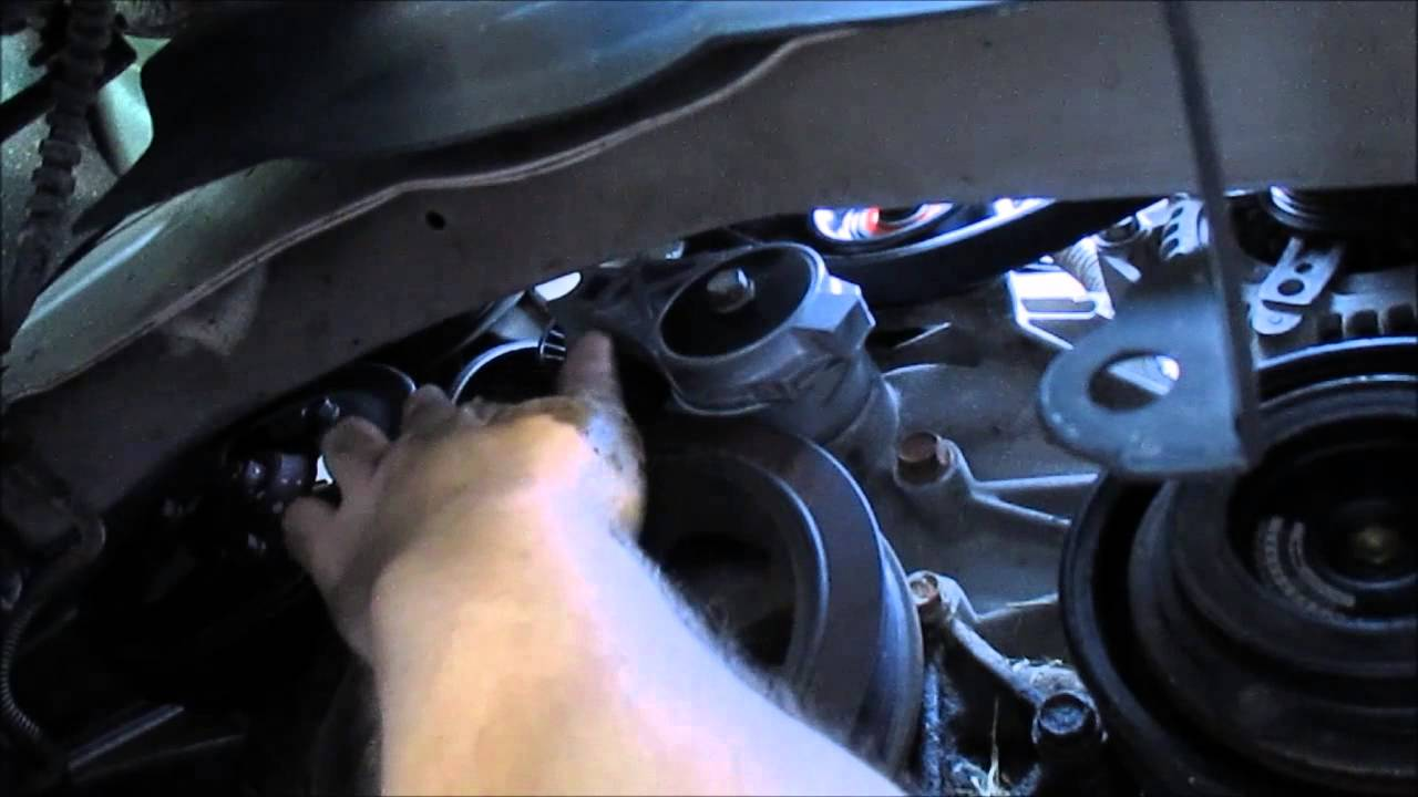 How To Change A SerpentineDrive Belt  Dodge Caravan
