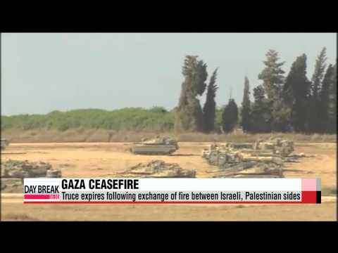 Gaza truce expires following exchange of fire between Israel, Palestine   이스라엘 하