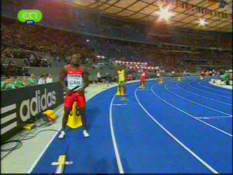 4x100 Men Final + Interview - World Championship 2009