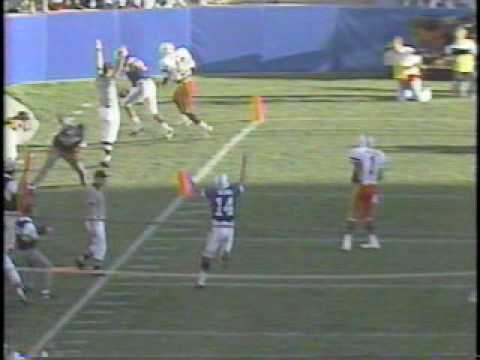 BYU Cougars vs #1 Miami Hurricanes football in 1990