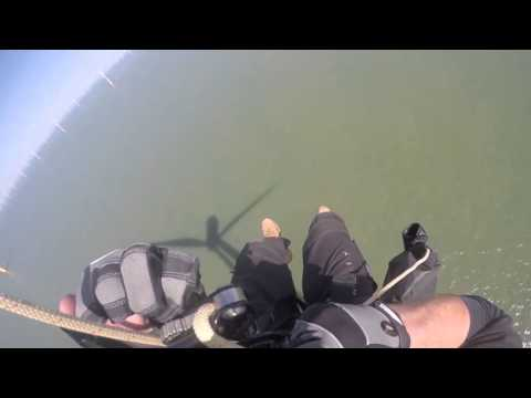 D2 Personal Escape Descender, offshore demo