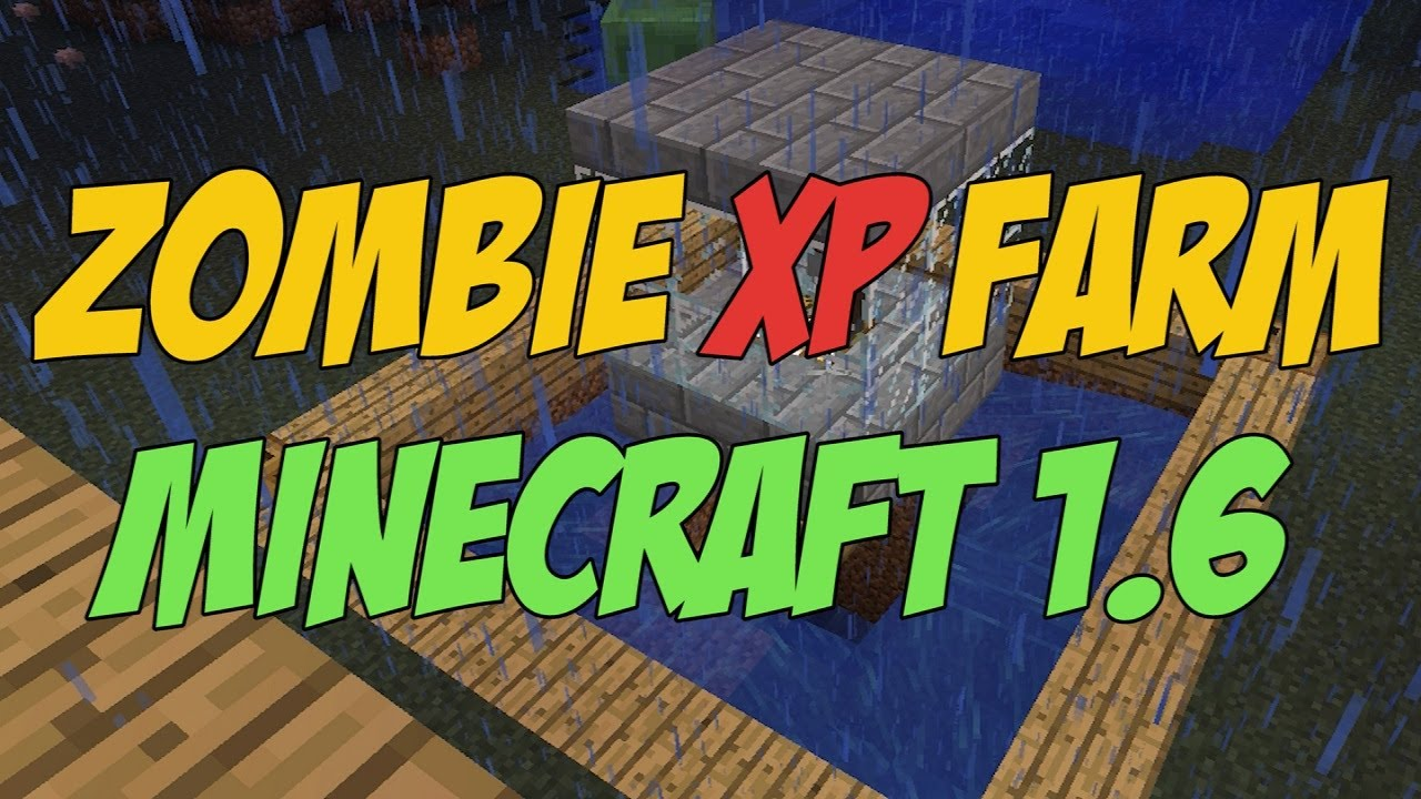 minecraft zombie farm designs