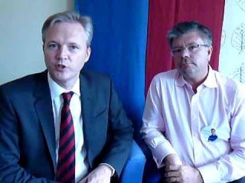 Hans Wallmark och Sten Tolgfors om fred och säkerhet i Europa