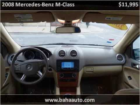 2008 Mercedes-Benz M-Class Used Cars Chicago, Burbank IL
